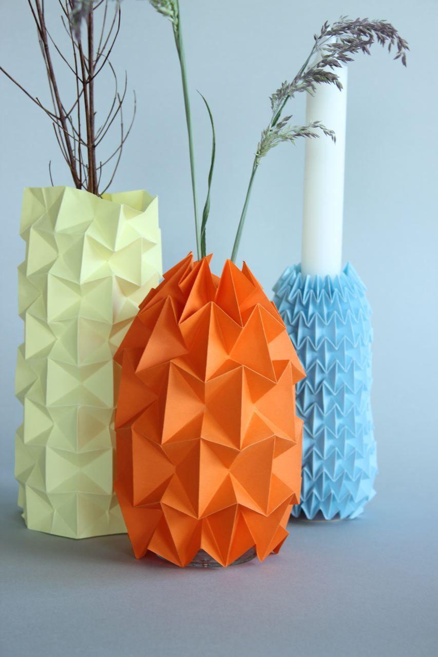 Diy Gefaltete Magic Ball Vasen Für Den Frühling Origami