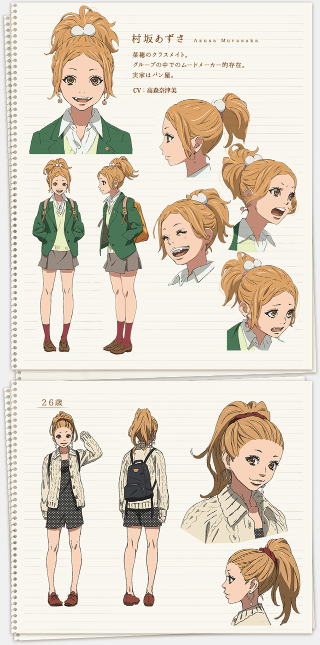 """""""Orange"""" Anime Launches on Character design, Anime"""