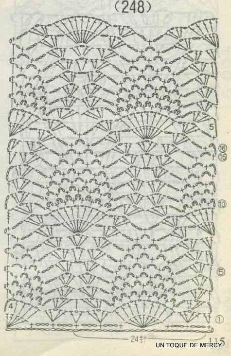 UN TOQUE DE MERCY: VESTIDOS DE CROCHET CON GRAFICOS.... | Crochet de ...
