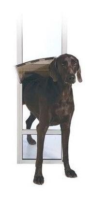 """PetSafe PPA11-13131 Freedom Patio Panel Large And Tall Bronze 76.75""""-81"""" Tall"""
