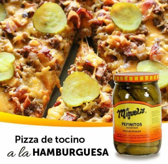 Pizza de hamburguesa