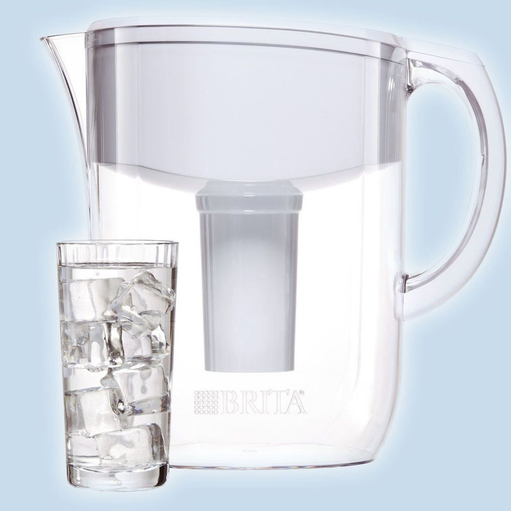 Brita large 10 cup everyday clean water pitcher with