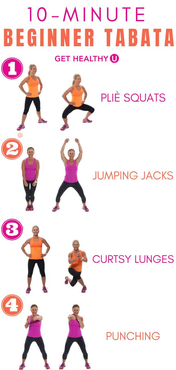 10-Minute Beginner Tabata Workout