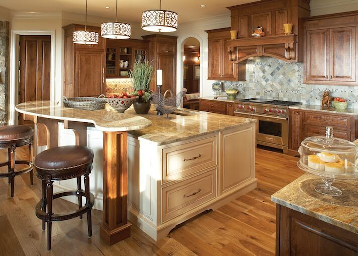 Custom Wood Kitchen Islands 50 luxury kitchen island ideas and designs | white kitchen island
