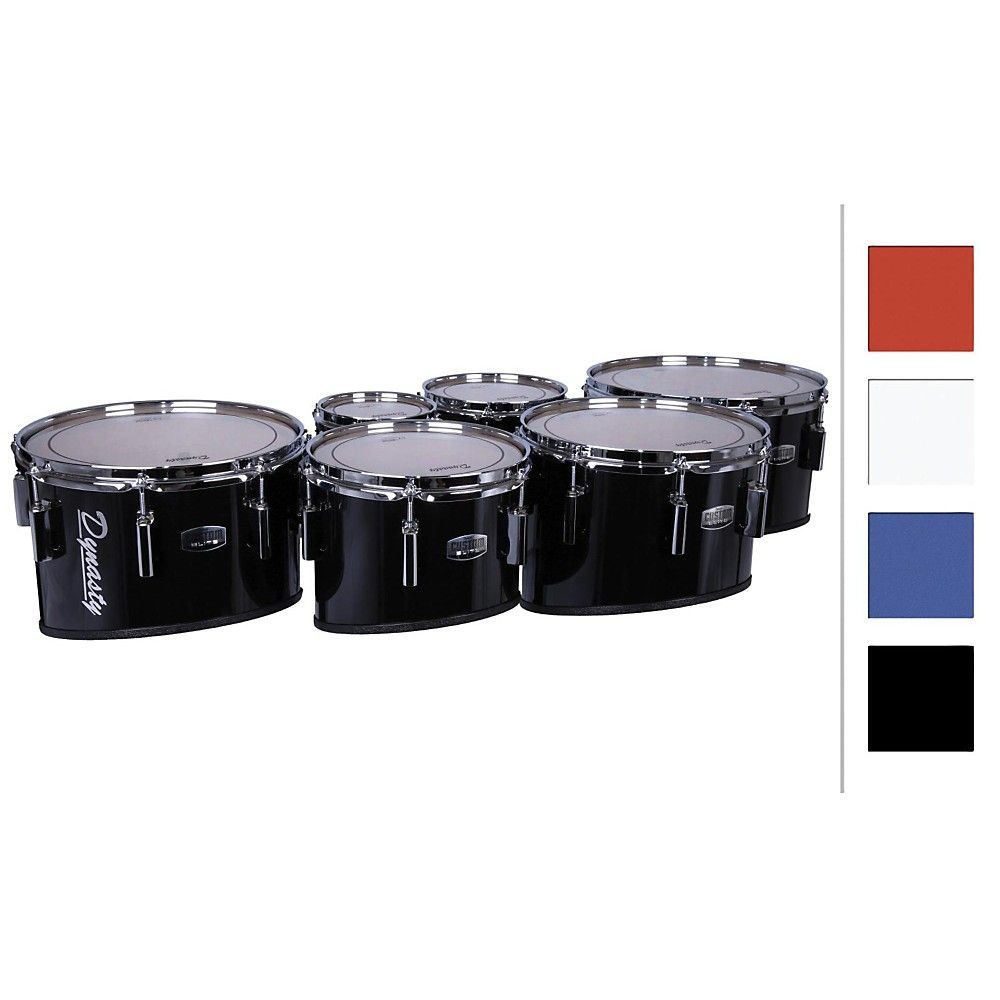 dynasty marching tenor drums sextet red 6 6 10 12 13 14 products pinterest drums. Black Bedroom Furniture Sets. Home Design Ideas
