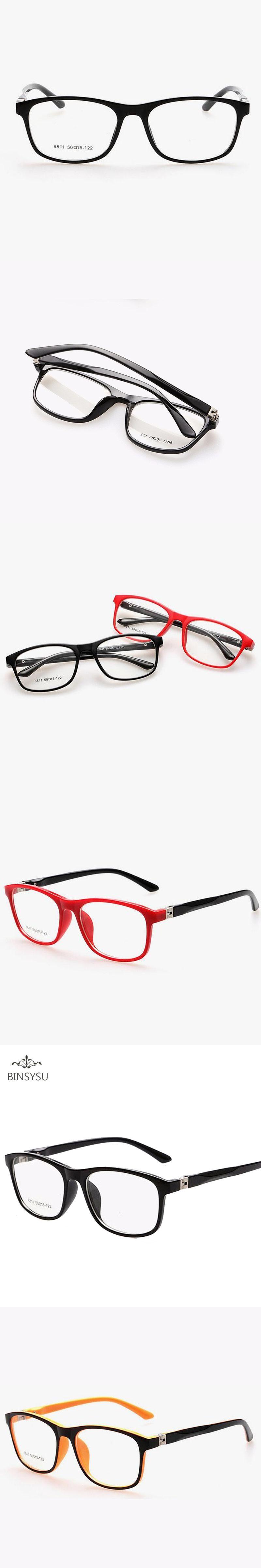 199680fc51b9 TR90 children optical frame eyewear wholesale eyeglasses 7 colors Double  Color New Style Girls Boys Kids Glasses big Frame 8811