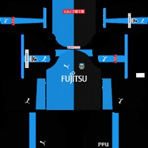 Kawasaki Frontale Dream League Soccer Kits 2017 2018 Soccer Kits Kawasaki Frontale Goalkeeper Kits