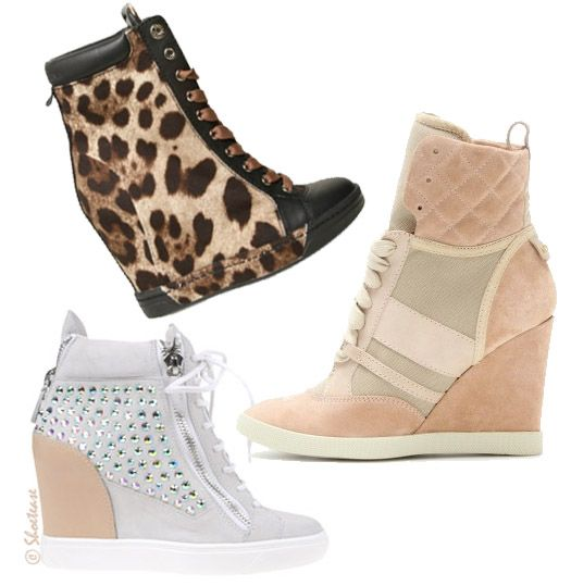 Shoe Trend Alert! Wedge Sneakers for Spring 2012 Shoes | Wedges ...