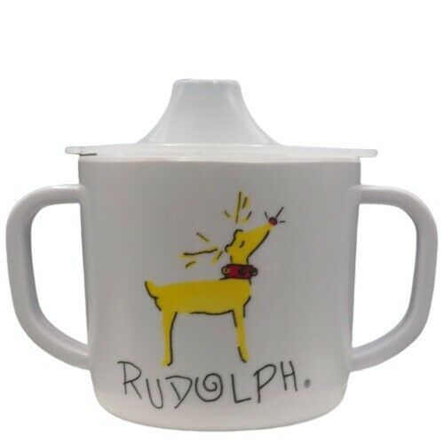 Pottery Barn Kids Rudolph Reindeer Sippy Cup Pbk Christmas