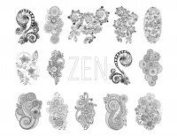 Display image coloring-zen-antistress-abstract-pattern-inspired-by-flowers-full-set-by-juliasnegireva