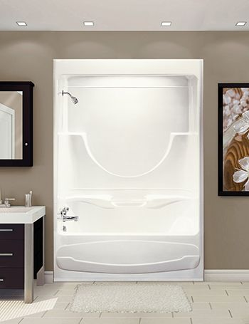 Bathtubs Showers Acrylic Vs Fiberglass With Images Shower