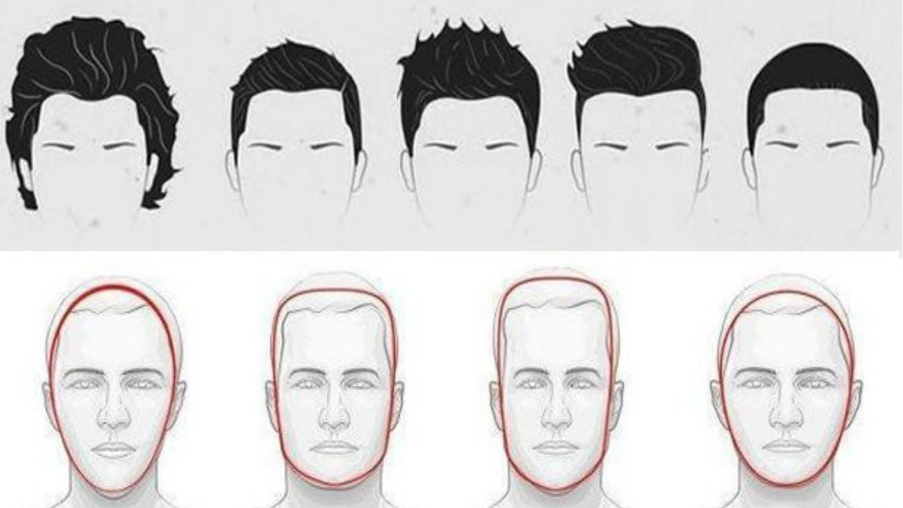 Choose The Best Hairstyle For Your Face Shape For Men Hairstyle Accord Oblong Face Hairstyles Oblong Face Haircuts Oval Face Hairstyles