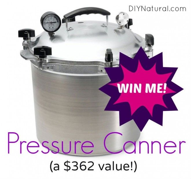 All American Pressure Canner Giveaway - A $362 Value : We're giving away this All American Pressure Canner to one lucky DIYNatural reader, just in time to help preserve the garden bounty. Help us spread the word!