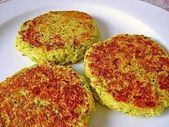 Zucchini couscous patties