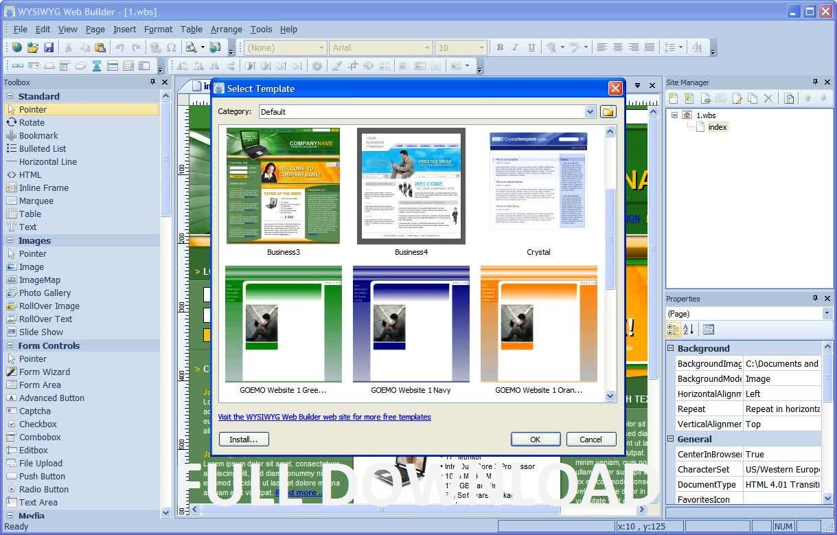 Best Wysiwyg Web Builder 7 Free Download Image Collection