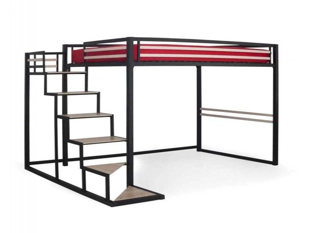 Lit Mezzanine 140 200 Avec Lit Lit Mezzanine But Awesome Stor Loft Bed Frame Ikea L Ga En 2020 Camas Altas Con Escritorio Camarote Con Escritorio Diseno Casas Pequenas