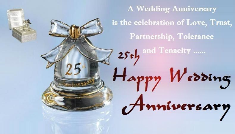 25th Wedding Anniversary Wishes Wedding Anniversary Wishes