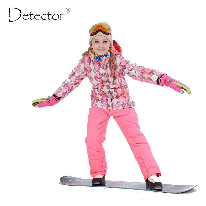 8cf329df4 Free Shipping Winter Outdoor Children Clothing Set Windproof Ski Jackets + Pants  Kids Snow Sets Warm Skiing Suit For Boys Girls