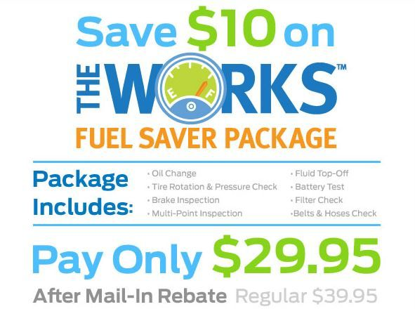 The Rebate Is Back Save 10 On The Works Fuel Saver Package At