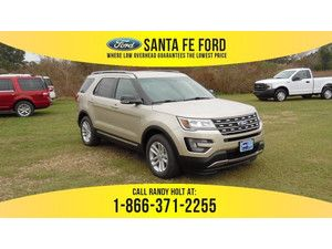 2017 White Gold Metallic Ford Explorer Xlt 366251 With Images