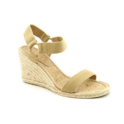 0d9988e2e108  saucy Lauren Ralph Lauren Women s Indigo Wedge Sandal