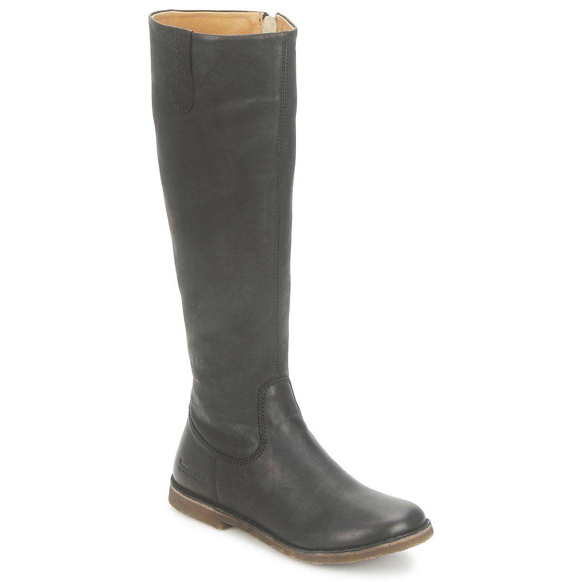 27c64d5febd Botte ville Kickers CREDO NOIR MAT - Livraison Gratuite avec Spartoo.com !  - Chaussures Femme 179