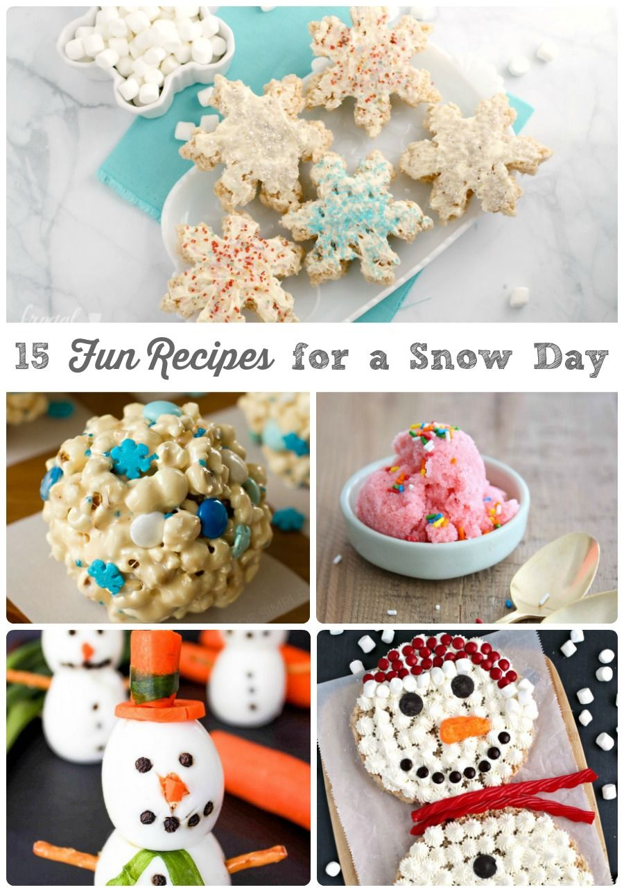 15 Fun Recipes for a Snow Day