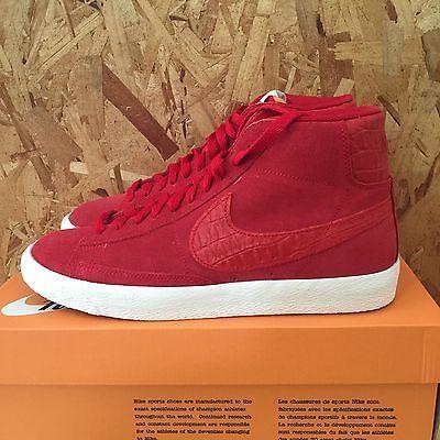 Nike Blazer Mid PRM VNTG Red Sail 638261 601 NIB Size 10.5