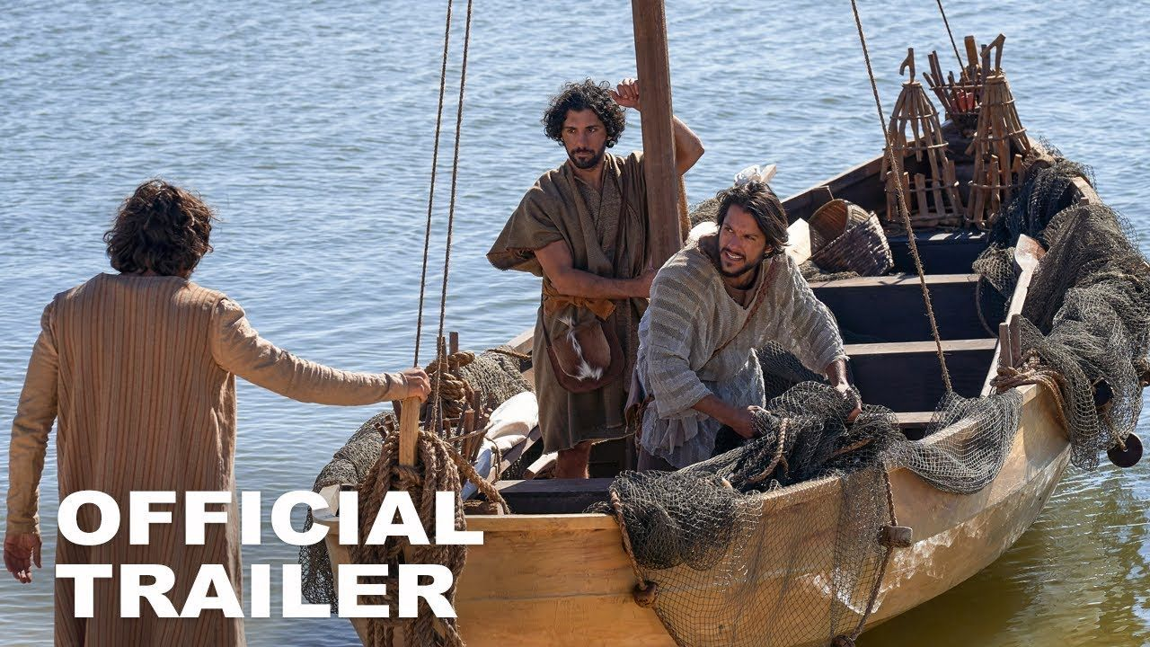 The Chosen Official Trailer HD YouTube Jesus movie