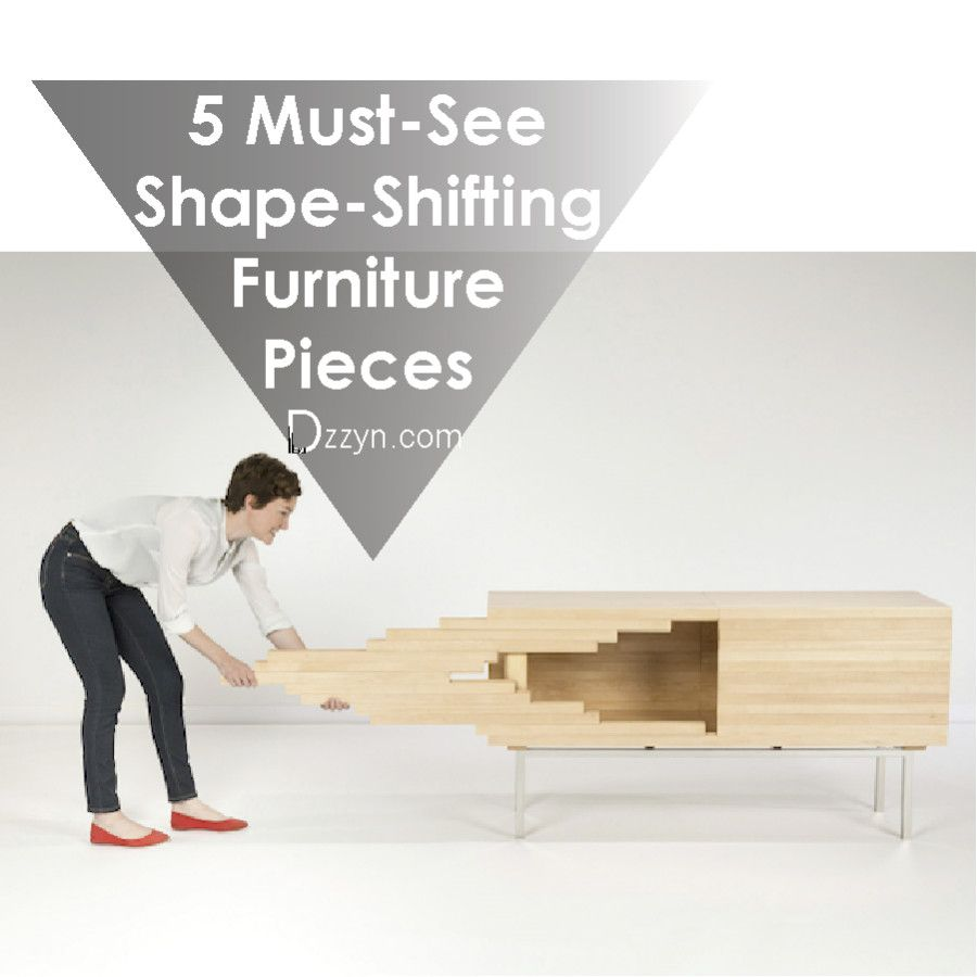 5 Must-See Shape-Shifting Furniture Pieces2 | Furniture Design ...