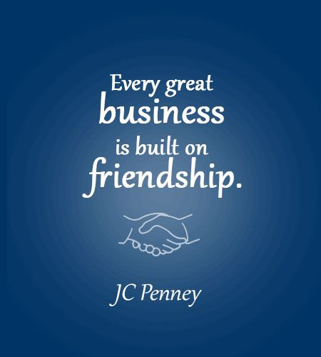 business friendship quotes