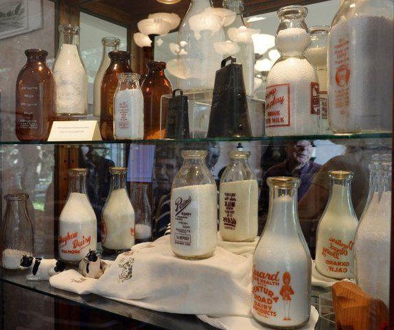 Heber Valley Milk bottle Depots Milk Bottle Half Pint dairy farmhouse decor