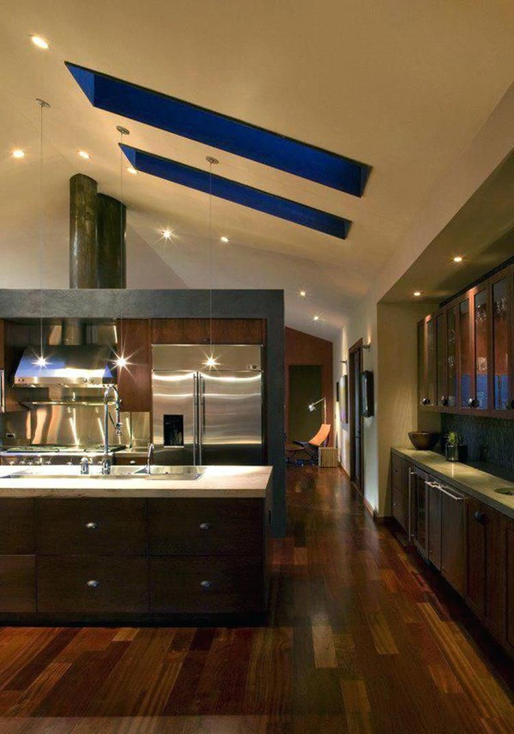 50 Amazing Kitchen Lighting Ideas For Vaulted Ceilings Ideas ... on overhead lighting ideas, angled ceiling ideas, slanted bedroom lighting ideas, slanted ceiling paint ideas, track lighting ideas, high ceiling living room decorating ideas, pendant lighting ideas, slanted ceiling track lighting, slanted ceiling decor ideas, slanted ceiling storage ideas, vaulted ceiling bedroom ideas, slanted bathroom ideas, sloped ceiling ideas, ceiling for living room ideas, slanted ceiling bedroom ideas, wall mount lighting ideas, slanted wall ideas,