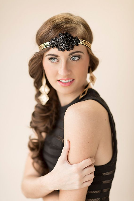 flapper hairstyles for curly hair - 570×855