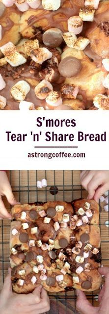 S'mores Tear 'n' Share Bread #tearandsharebread