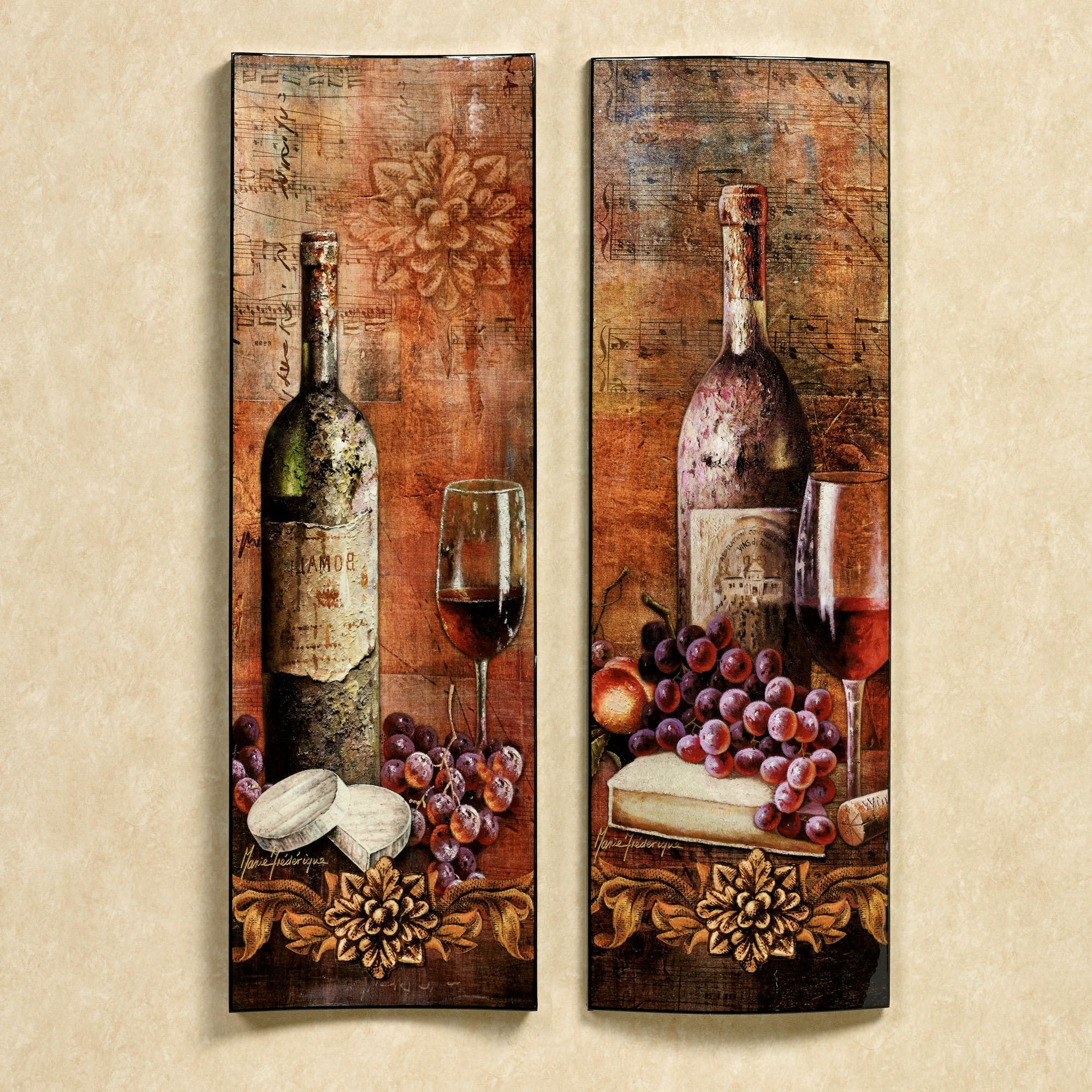 Tuscan and italian home decor touch of class wine craft