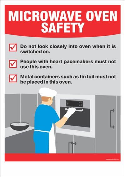 Kitchensafety Tips For Using A Microwave Safetyfirst Safetyalways