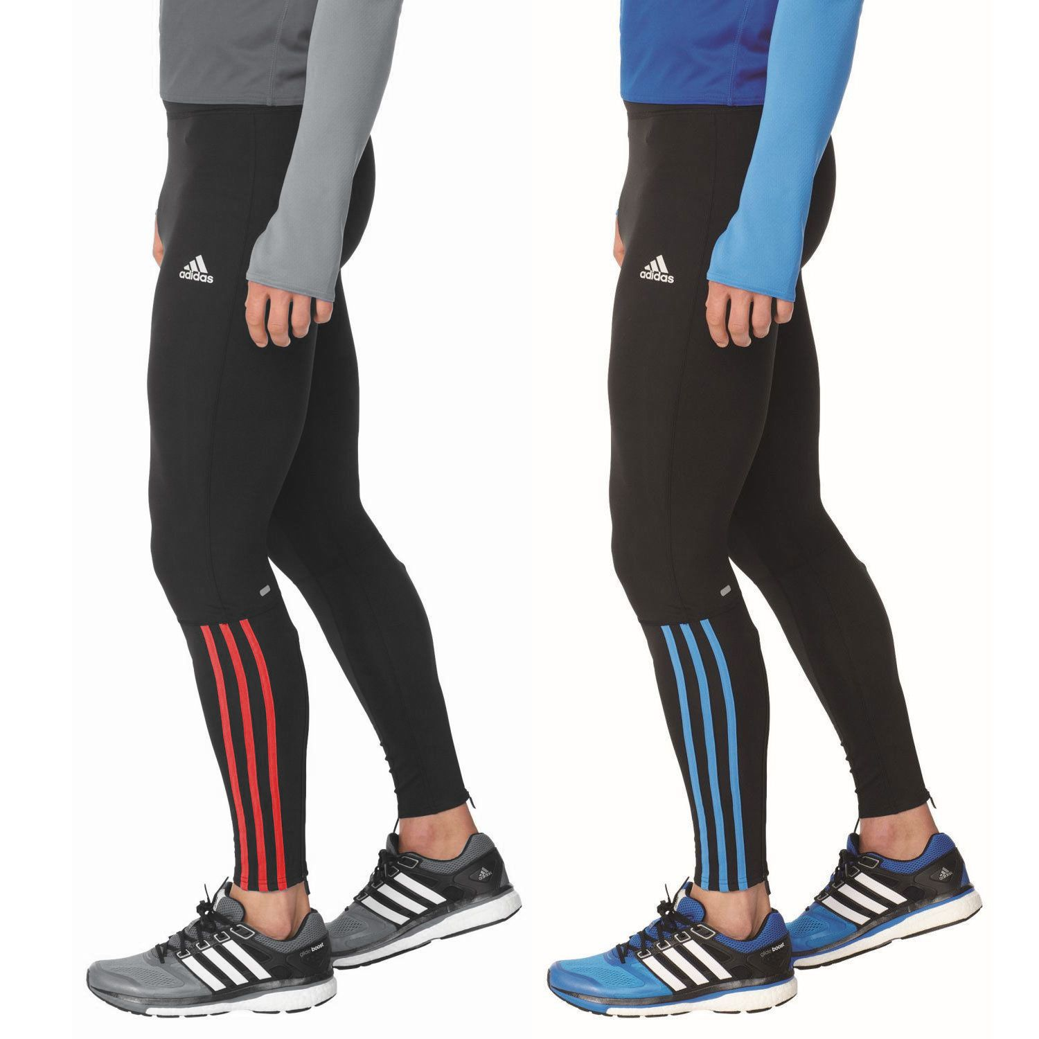 adidas Response Mens Long Running Tight Leggings Yoga Gym