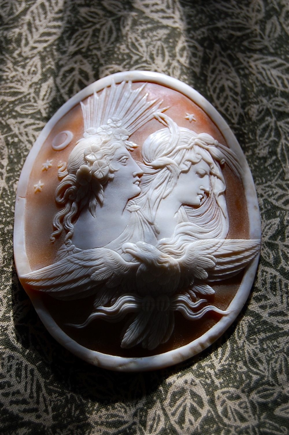 ⊙ Cameo Cupidity ⊙ Antique Shell Cameo- Kelly Harrison