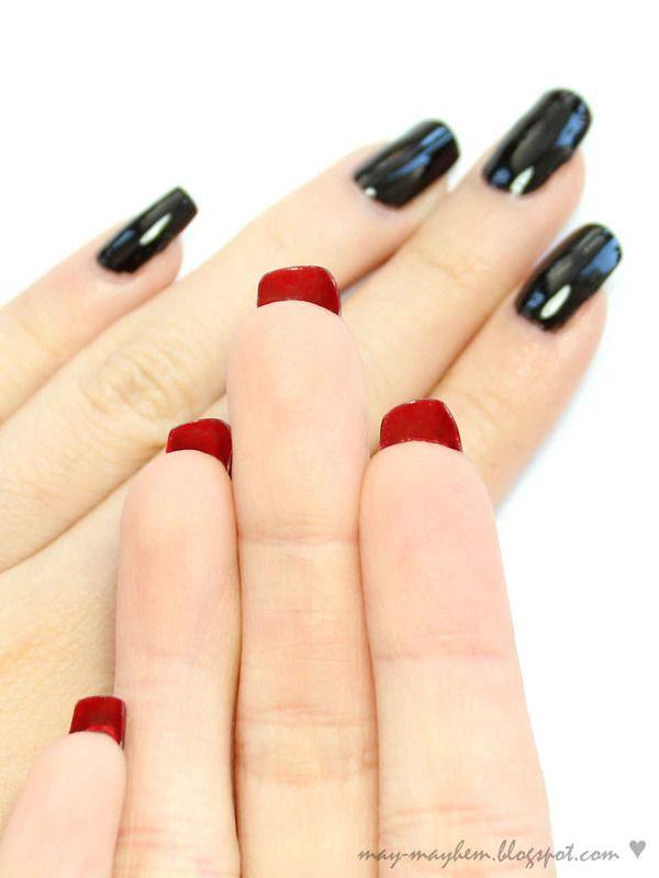 Louboutin Inspired Nails Inspiredred Bottom