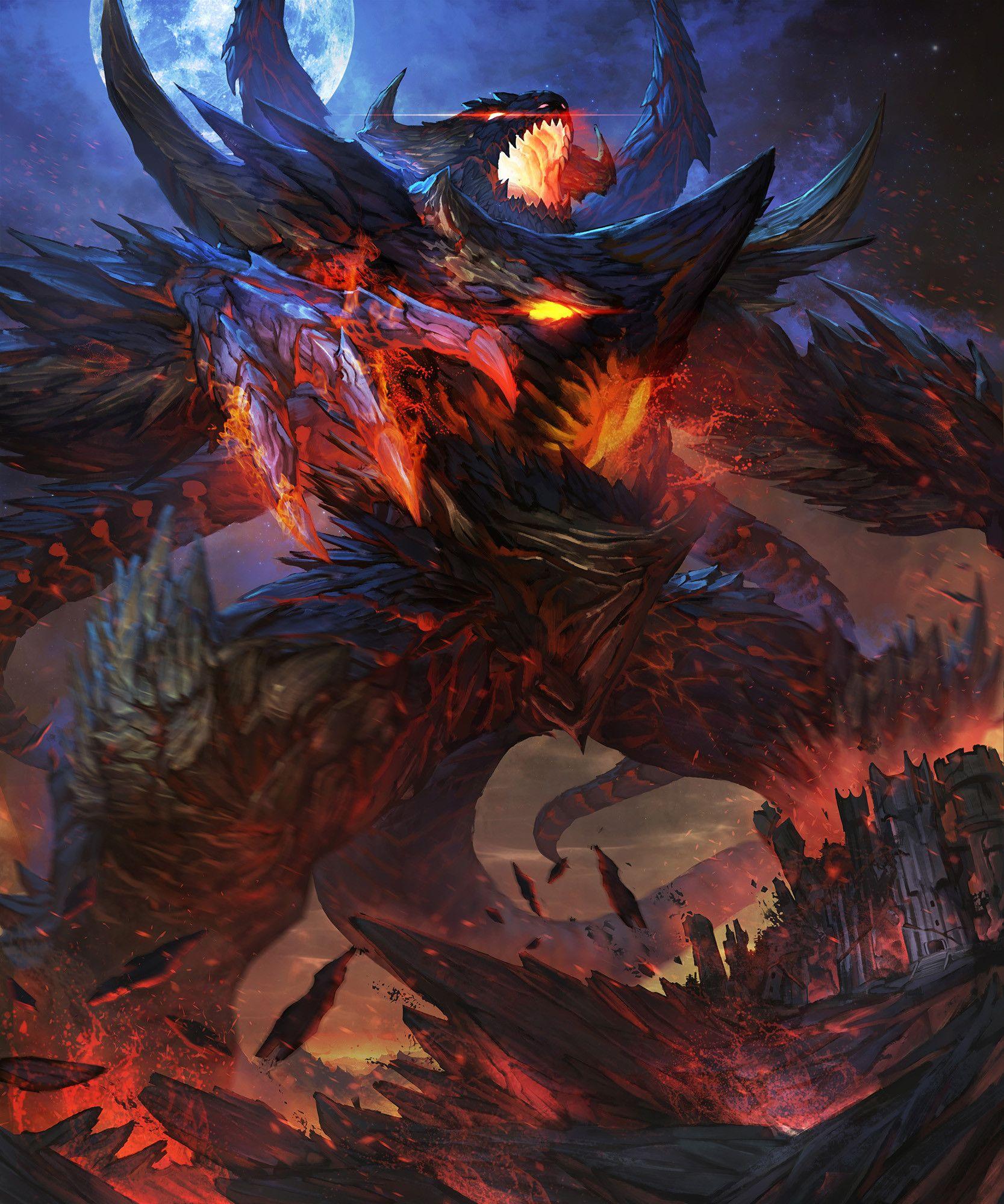 демонические драконы картинки оставшихся