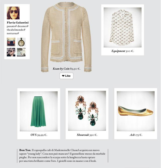 Bon Ton Il Capospalla Cult Di Mademoiselle Chanel Acquista