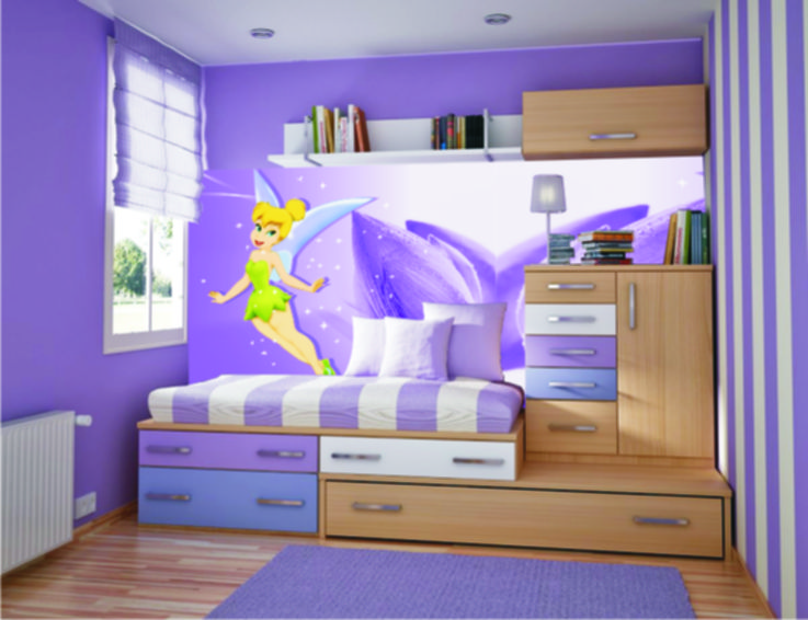 Kairi will DEFF have this room....or something close to it. Bedroom  Decorating IdeasTinkerbellBell ...