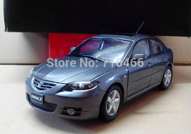 Rare 2012 1 18 New Mazda 3 Sedan Diecast Model Car Mini Model Car