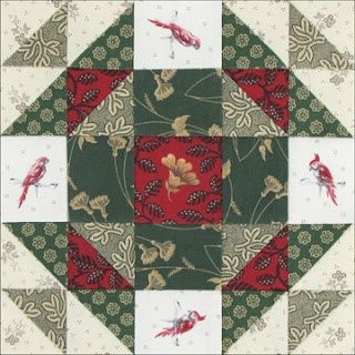 Civil War Quilts: 52 Christmas Star.