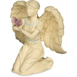 This inspirational angel, holding a butterfly of hope, is the perfect gift to provide comfort and peace. $18.99