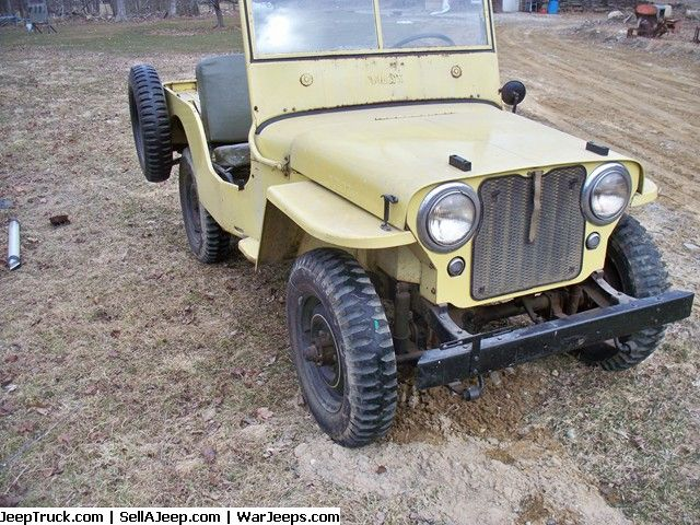 Willys 1946 Cj2a Low Mileage Survivor Jeep For Sale Amazing