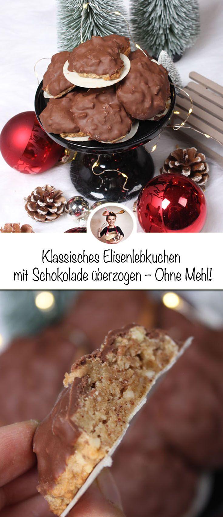 """Diese Elisenlebkuchen sind der ultimative Weihnachtskeks. Sie sind ohne Mehl und ohne Butter, aber sie haben eine wundervolle kaubare Textur und sind voll mit Nüssen, kandierter Zitronenschale, Gewürzen und einem Hauch Zitrone. Dieser """"Weihnachtskeks"""" ist einer meiner Favoriten aller Zeiten, und wenn du ihn einmal probiert hast, glaube ich, dass er auch einer deiner Favoriten sein wird. #Elisenlebkuchen #Lebkuchen #plätzchen #weihnachten #backen #rezepte"""