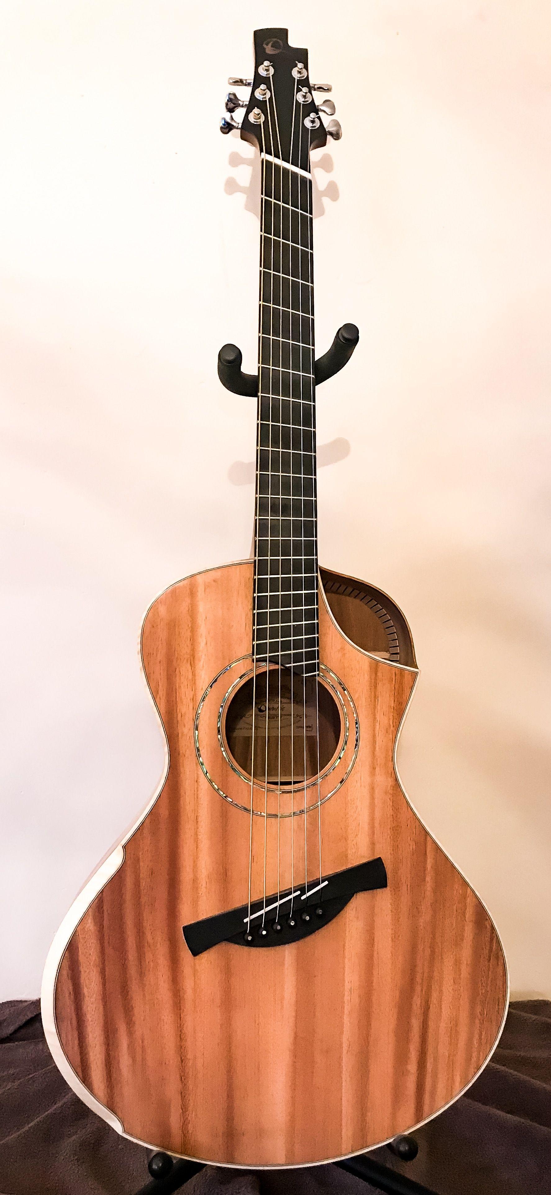 Concert Guitar Handmade Acoustic Guitar Luthier Custom ...