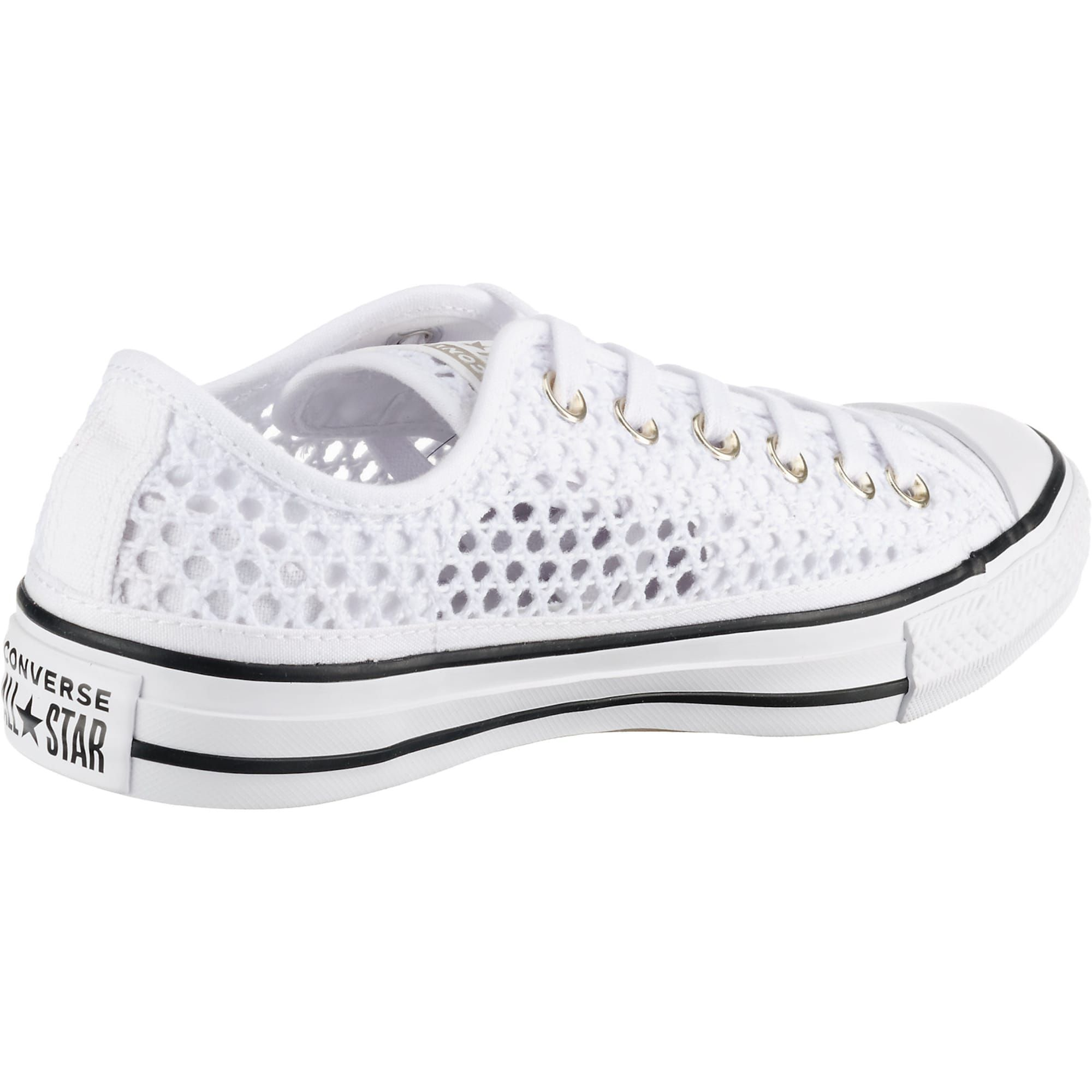Converse Chuck Taylor All Star Ox Sneakers Low Damen Weiss Grosse 41 5 Converse Chuck Taylor Chuck Taylors Und Converse